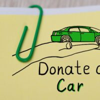 Donating a car for money